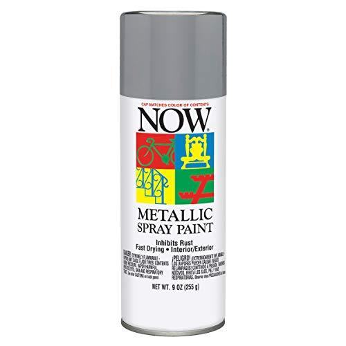 Krylon I21201007 Now Spray Paint, 9 Ounce (Pack of 1), Aluminum Metallic