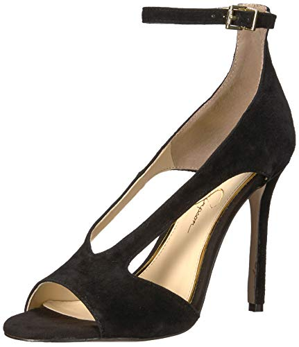 Jessica Simpson Women s JASTA, Black, 7.5 Medium US
