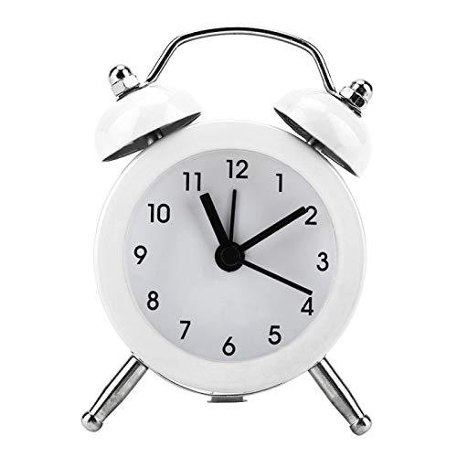 Uhr 3-Zoll-Mini-Digitalalarm für Kinder im Schlafsaal(white)