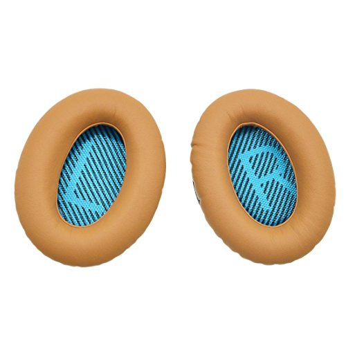 Reemplazo Cojín de oído para Bose Quietcomfort 2 QC2, Quietcomfort 15 QC15, Quietcomfort 25 QC25, Quietcomfort 35 QC35, Around Ear 2 AE2, AE2i, AE2w Auriculares con iParaAiluRy Garantía