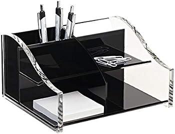 Realspace Acrylic Desk Organizer, 4 5/16