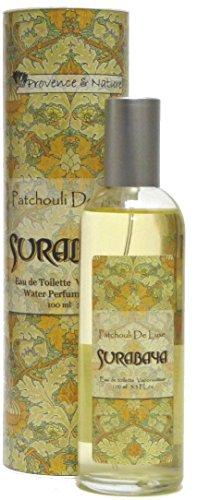 Provence et Nature : Eau de Toilette Patchouli de Luxe (Surabaya) avec parfum végétales, 100 ml