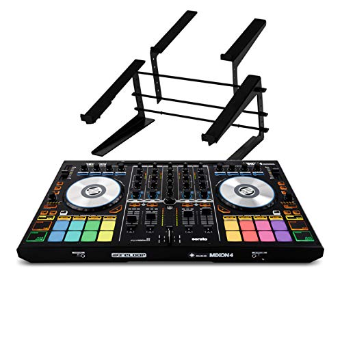 Learn More About Reloop Mixon4 Controller W/Controller & Laptop Stand