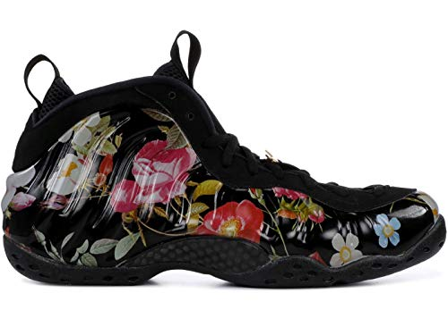 Price comparison product image Nike Air Foamposite One Floral Black / Black-Metallic Gold (WS) (11 B(M) US)