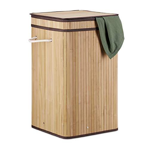 Cestos Para La Colada Bambu Marca Relaxdays