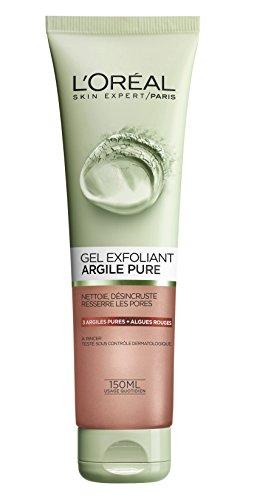 L'Oréal Paris Gel Exfoliant Visage Argile Pure 150 ml