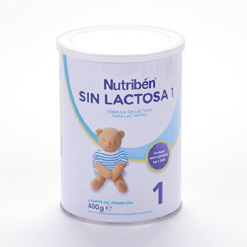 Nutribén Leche sin Lactosa 1 - 400 gr
