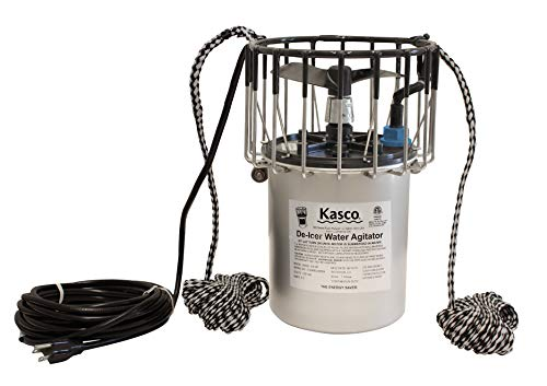 Kasco 3/4HP Pond & Lake De-icer w/C-10 Thermostat Controller– 120V, 50 ft Power Cord