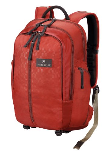 Victorinox Luggage Altmont 2.0 Vertical-Zip Laptop Backpack, Red, One Size