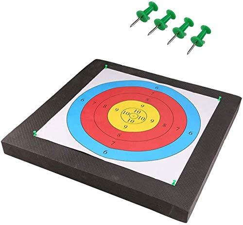 Tiro con Arco Objetivos Juego De Dardos Profesional EVA Foam Archery Target Mat Board