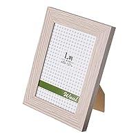 """エツミ フォトフレーム Weal-ウィール-""""幸せ"""" L判用(3.5×5in) PS グレー VE-5565-10"""