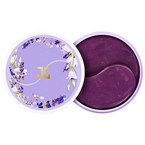 JAYJUN Lavender Tea Eye Gel Patch, Firming, Under Eye Patch, 60 in Jar