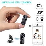 XYM Caméra Espion/Caméra Cachée 1080P HD WiFi Mini Caméra Espion/Petites Caméras De Surveillance De Sécurité À...