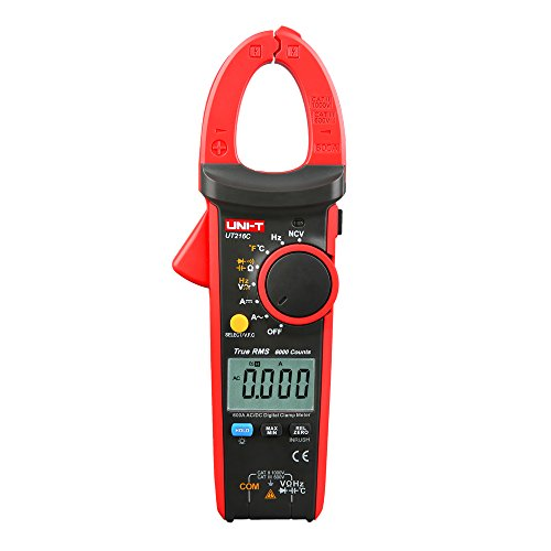 UNI-T UT216C 600A True RMS Multimetro a Pinza, Auto Range/frequenza, 1 pezzo,