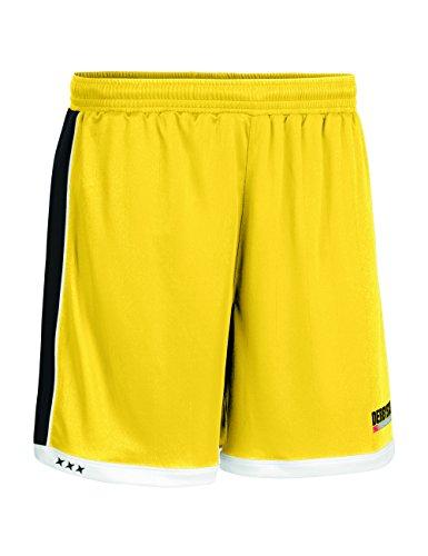 Derbystar Hose Brillant Kurz, 140, gelb schwarz, 6001140520