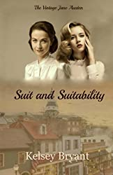 Suit and Suitability book cover, a Sense and Sensibility retelling