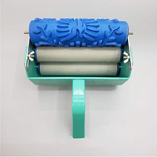 PAOFU 7 Inch Roller voor Schilderij + Muurdecoratie Schilderij DIY Machine Makkelijk te gebruiken, Niet Vuil