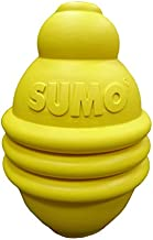 SUMO Rubber Play (M) Dog Toy (Yellow)