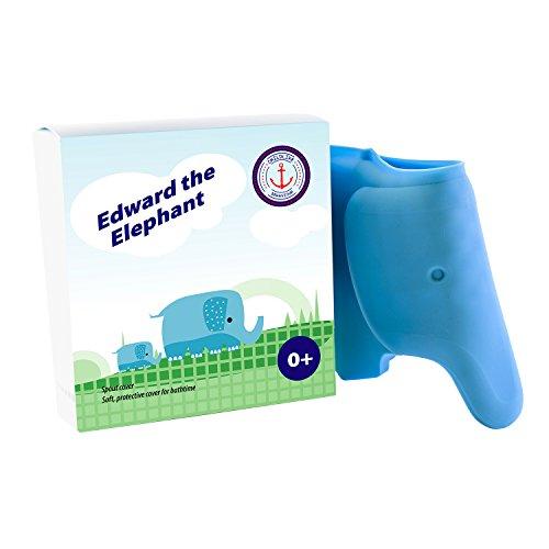 Edward der Elephant, Badewannenhahn Abdeckung von Childlike Behaviour. Für die Sicherheit Ihres Babys und ein tolles Geschenk für Eltern