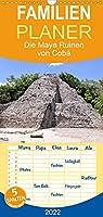 Die Maya Ruinen von Cobá - Familienplaner hoch (Wandkalender 2022 , 21 cm x 45 cm, hoch): Erleben Sie eine der letzten vollstaendig erforschten Kultstaetten Mexikos. (Monatskalender, 14 Seiten )