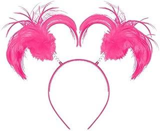 Pink Ponytail Headband, Party Accessory