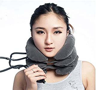 Cervical Neck Inflatable Collar Pillow Traction Device Effective And Instant Relief for Chronic Neck And Shoulder Pain Rel...