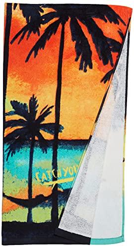 Tuc Tuc Toalla Just Surf Salida de baño, Naranja, U para Niños