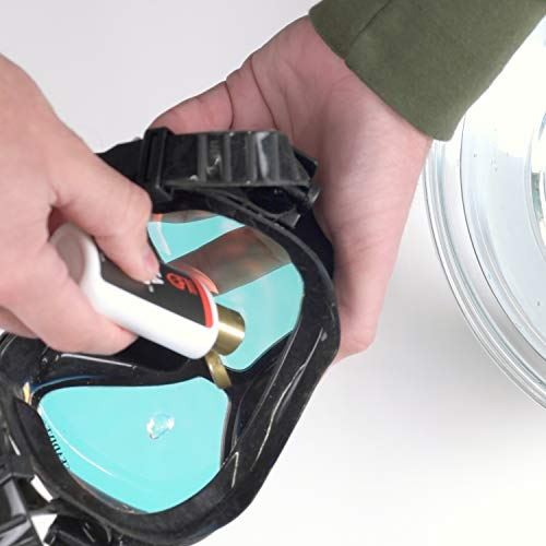 416baY 6Y0L - Gear Aid Sea Gold Anti-fog Gel Coating for SCUBA Dive Masks, 1.25 oz, 2 Pack