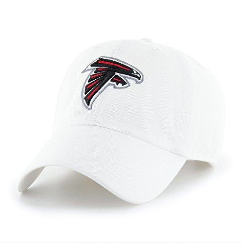 OTS NFL Atlanta Falcons Men's Challenger Adjustable Hat, White, One Size