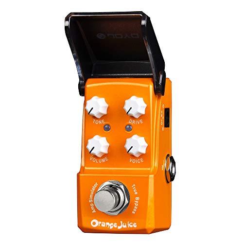 JOYO Orange Juice Guitar Amp Simulator Effects Mini Pedal for Electric Guitar True...