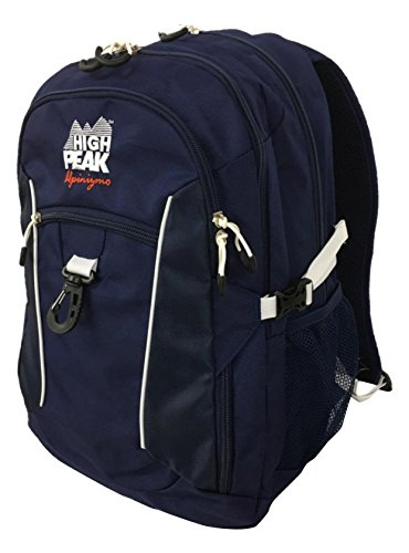 High Peak USA Alpinizmo Vector 38 Backpack, Blue, One Size