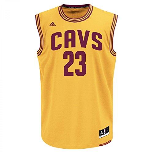 adidas INT Replica Jrsy Camiseta de Manga Corta, Hombre, Multicolor (NBA Cleveland Cavaliers 7 3Cc), S