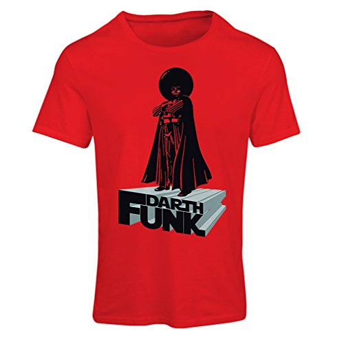 lepni.me N4347F Camiseta Mujer I Love Funk (XX-Large Rojo Multicolor)