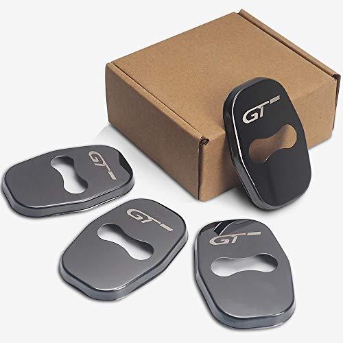 4 stks/set Anti Roest Autodeurslot Beschermhoes Voor Peugeot 206 5008 4008 3008 207 308 408 307 508 GT Auto Styling Accessoires