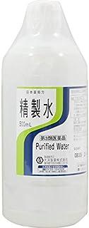 【第3類医薬品】日本薬局方 精製水 500mL