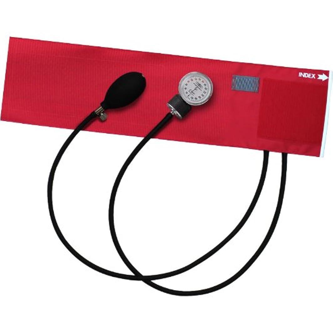 群れ予算ダルセットFOCAL アネロイド血圧計 FC-100V NC レッド