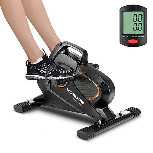 YOSUDA Under Desk Bike Pedal Exerciser - Magnetic Mini Exercise Bike for Arm /Leg...