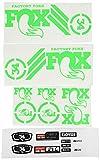 Ecoshirt MH-30B3-TFVX Stickers Fork Fox 34 Am65 Aufkleber Decals Autocollants Stickers Fourche Gabel Fourche, Vert Fluo