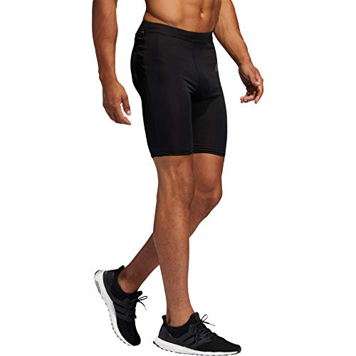 adidas Herren Own The Run Short Tights, Black, M