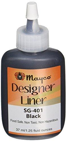 Mayco Designer Liner, Black, 1.25 Ounces - 1464323