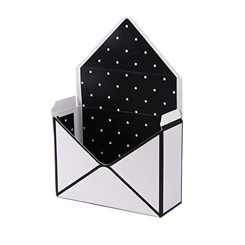 S-TROUBLE Creative Envelope Fold Flower Aufbewahrungsbox Hochzeit Verlobungsfeier Dekor Polka Dot Stripes Bedruckte Pappe Verpackung Geschenkverpackung 8 Styles
