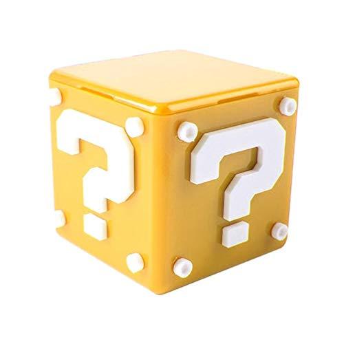 WEN 12 IN 1 Kreative Spielkarte Aufbewahrungskoffer Box Kassette Hartschale Für NS Switch Gelb
