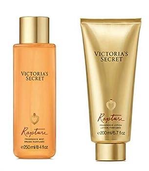 x2 Victoria s Secret Rapture Duo Lotion and Mist Set 8.4 ounces Each