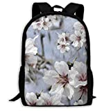 Almond Blossoms 2 - Large - Painting Effect_7313 Classic Backpack Travel Laptop Backpack, College School Student Mochila para Hombres y Mujeres
