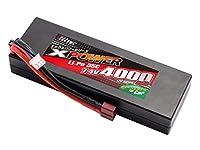 ハイテック X-POWER 車用 Li-Poバッテリー 7.4V4000mAh 35C XP90170