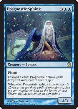 Magic The Gathering - Prognostic Sphinx (60/249) - Theros