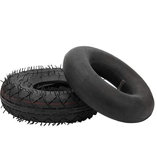 MAGT Scooter Reifen, Hochwertiger Gummi-Außenreifen- und Innenschlauchsatz 4.10/3.50-4 Ersatzzubehör für Elektroroller