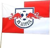 Stockflagge RB Leipzig - 60 x 90 cm, + gratis Aufkleber, Flaggenfritze®