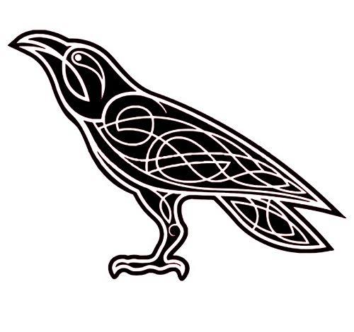 Celtic Raven Vinyl Decal