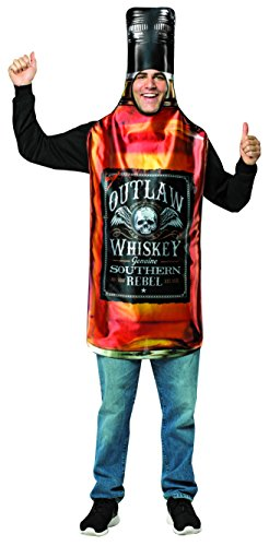 Liquor Bottle Costume - One Size - Chest Size 48-52